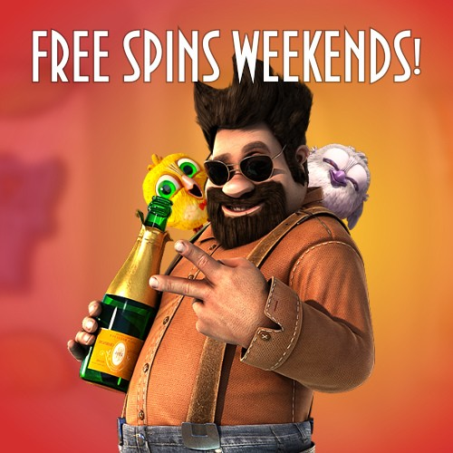 Free Spins Weekends!